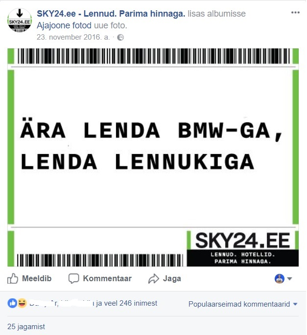Facebooki turundus_Sky24