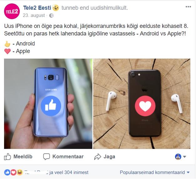 Facebooki_turundus_Tele2