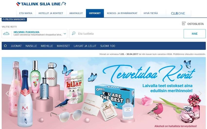 Tallink duty-free