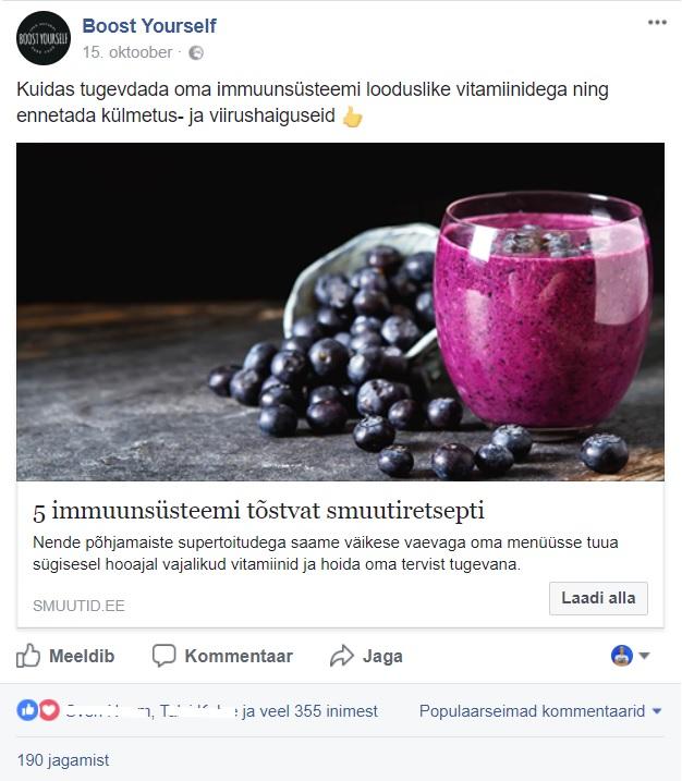 Facebooki turundus_BoostYourself
