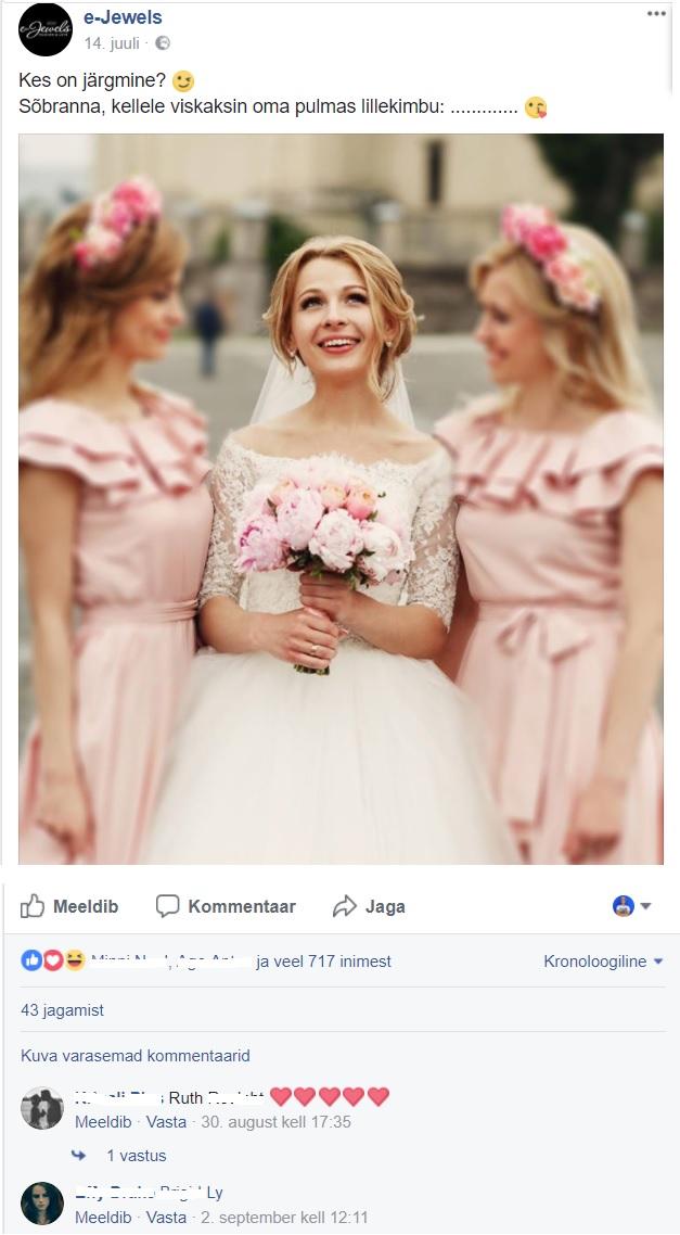 Facebooki turundus_E-Jewels